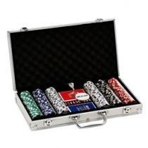 Jogo de Poker Profissional 300 Fichas - Incasa NM0002
