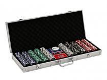 Jogo de Poker Profissional 500 Fichas - Incasa NM0003