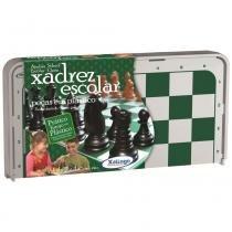 Jogo de Xadrez Escolar em Plástico 07821 - Xalingo - Xalingo