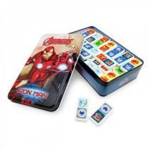 Jogo Dominó Marvel, Avengers, Iron Man - Toyng - Toyng
