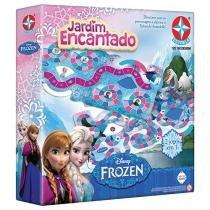 Jogo Jardim Encantado Frozen Disney Tabuleiro - Estrela