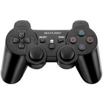Joystick para PS2/PS3/PC sem Fio Multilaser - JoyPad 3 em 1