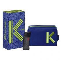 Kenzo Homme Sport Extreme Eau de Toilette Kenzo - Kit de Perfume Masculino 50ml + Nécessaire - Kenzo