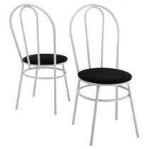 Kit Cadeira 2 Peças Metalmix - Genova