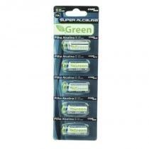 Kit com 5 Unidades Bateria Lithium Manganes A23 12V - Green - Green