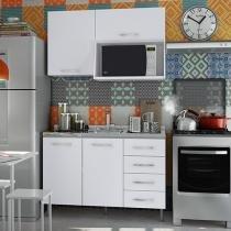 Kit Cozinha Completa Móveis Vicenza 4 Portas - 4 Gavetas