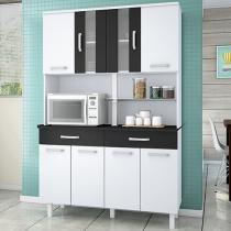 Kit Cozinha Madine Móveis Atenas - 8 Portas 2 Gavetas