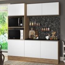 Kit Cozinha Multimóveis Linea Nicho para Forno - Micro-ondas 6 Portas