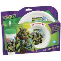 Kit de Alimentação Tartarugas Ninja - Baby Go