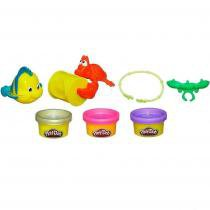 Kit de Massinha da Princesa Ariel Play-Doh 38539 Hasbro - Hasbro