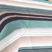Kit Edredom King 200 Fios Degrade Naturalle Fashion + 2 Porta Travesseiros - Sultan