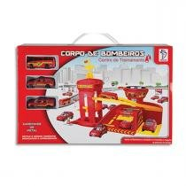 Kit Garagem Corpo de Bombeiros - Departamento de Fogo 3370 - Fênix - Fênix