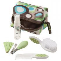 Kit Higiene e Beleza para Bebê Safety1st 10 Peças - Verde - Safety 1st