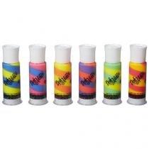 Kit Massa para Modelar 6 Tubos Deco Pops Play-Doh - DohVinci Hasbro