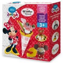 Kit Massinha De Modelar Waffle Minnie Toyng - Toyng