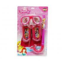Kit Mergulho Infantil Princesas Disney - Toyng - Disney