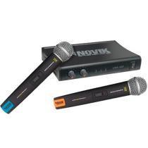 Kit Microfone sem Fio UHF UNK400 - Novik - Novik