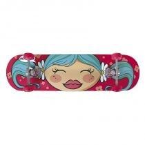Kit Skate Infantil com Acessórios de Segurança 40600202 - Mor - Mor