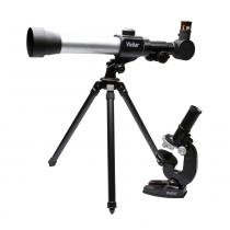 Kit Telescópio e Microscópio Mod VIVTELMIC20 - Vivitar