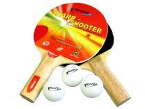 Kit Tênis de Mesa com Raquete e Bola 5 Peças - Klopf 5052