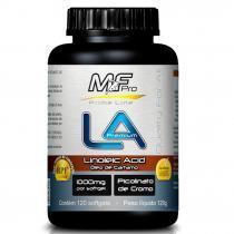 LA Premium Óleo de Cártamo com Cromo 1000mg 120 Cápsulas MfPro - Muscle Feeder - Mf Pro - Muscle Feeder