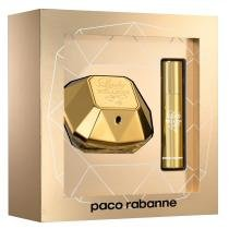 Lady Million Eau de Parfum Paco Rabanne  Kit Perfume Feminino 50ml + Travel Spray 10ml - Paco Rabanne