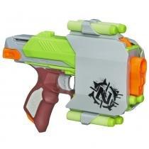 Lançador de Dardos Nerf Zombie Strike Sidestrike A6765 - Hasbro - Hasbro