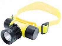 Lanterna LED de Cabeça para Mergulho - Alcance 130 Metros de Alcance - Guepardo Atoll
