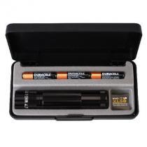 Lanterna Mini MagLite LED Preta Luxo 3AAA - MagLite