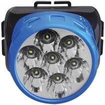 Lanterna para Cabeça Bivolt 7 LEDS 7316 - Brasfort - Brasfort