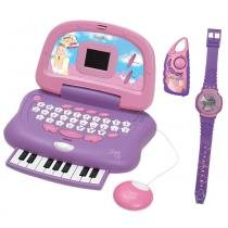 Laptop da Xuxa - Kit Piano + Rádio + Relógio - Candide - Xuxa