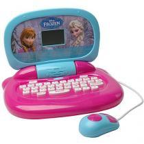 Laptop Infantil Frozen das Irmãs - 30 Atividades Candide