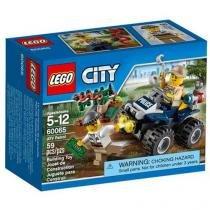 LEGO City Patrulha Off-Road - 59 Peças - 60065