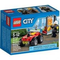 LEGO City Veículo Off-Road de Combate ao Fogo - 4111160105 64 Peças