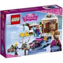 LEGO Disney Princess A Aventura de Trenó de Anna - e Kristoff 4111141066 174 Peças
