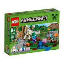 Lego Minecraft 21123 O Golem de Ferro - LEGO - Lego