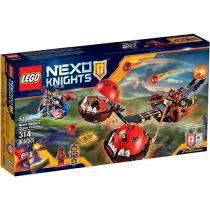 LEGO Nexo Knights Carro do Caos do Mestre Besta - 4111170314 314 Peças