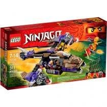 LEGO Ninjago Ataque de Helicóptero Condrai - 70746 311 Peças