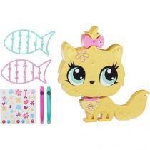 Littlelest Pet Shop Decore Pet Novo Gato - com Acessórios - Hasbro
