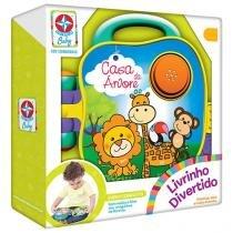 Livro Infantil Baby - Livrinho Divertido Casa da Árvore Estrela