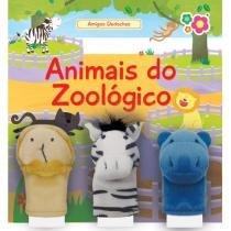 Livro Infantil Bebê Leitor Animais do Zoológico - Dican