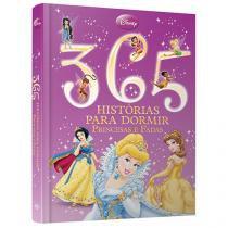 Livro Infantil Disney - 365 Histórias Para Dormir Princesas e Fadas DCL