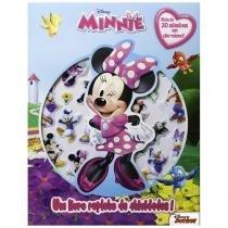 Livro Infantil Disney Junior - Minnie - Um Livro Repleto de Atividades DCL