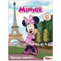 Livro Infantil Disney Junior - Vamos Colorir! Minnie DCL