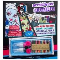Livro Infantil Monster High Acessórios de Arrepiar - DCL