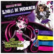Livro Infantil Monster High Lindas de Morrer - DCL