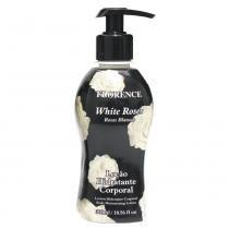 Loção White Roses Florence - Hidratante Corporal - 300ml - Florence
