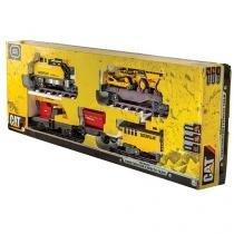 Locomotiva Cat Construction Express Train - DTC