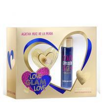 Love Glam Love Agatha Ruiz de La Prada - Feminino - Eau de Toilette - Perfume + Gel de Banho - Agatha Ruiz de La Prada