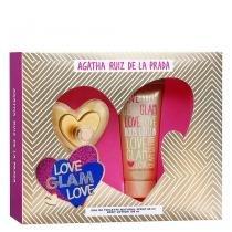 Love Glam Love Eau de Toilette Agatha Ruiz de La Prada - Perfume Feminino + Loção Corporal - Agatha Ruiz de La Prada